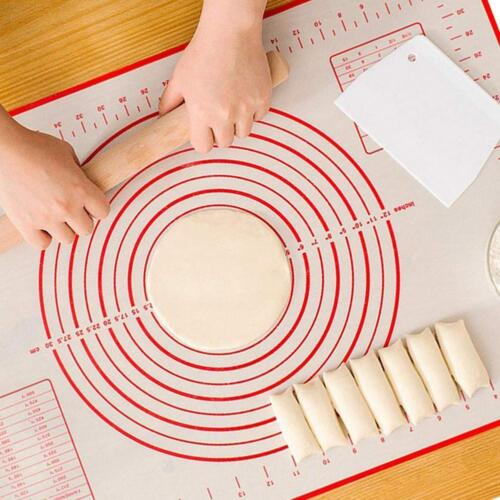 Non-Stick Silicone Sheet Liner Dough Rolling Mat Baking Mat Pastry Clay Pad