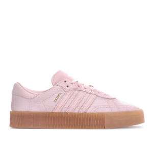 Short-Femme-Adidas-Originals-sambarose-Trainers-in-Icey-Rose