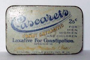 Cascarets Candy cathartique Laxatif pour CONTIPATION Tin-Sterling produits (INC)-afficher le titre d`origine 5GV3pBfy-09092905-555928117