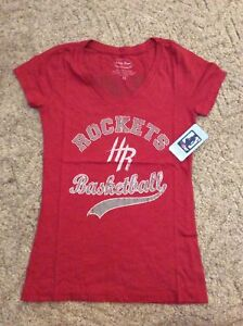 Huston Rockets James Harden NBA V-Neck Baby Doll Basketball Shirt