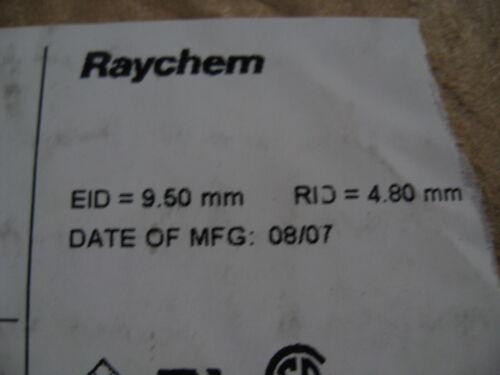 9.6 mm thermorétractables Câblage thermorétractables, Raychem rouge