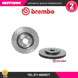 0980043X-Coppia-disco-freno-ant-Fiat-Grande-Punto-MARCA-BREMBO