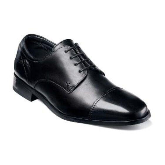 Florsheim Mens scarpe Welles nero Calfskin  Leather Lace Up 18358 -01  prezzi bassi di tutti i giorni