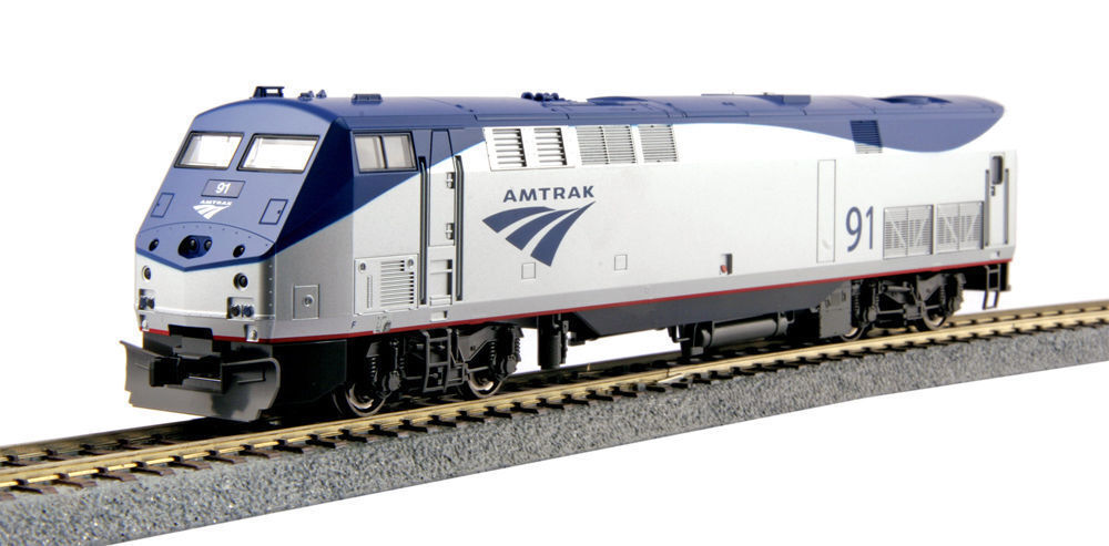 Kato 376108 Escala Ho Locomotora P42 Génesis Amtrak Phase Vb  91 DC 37-6108 Nuevo