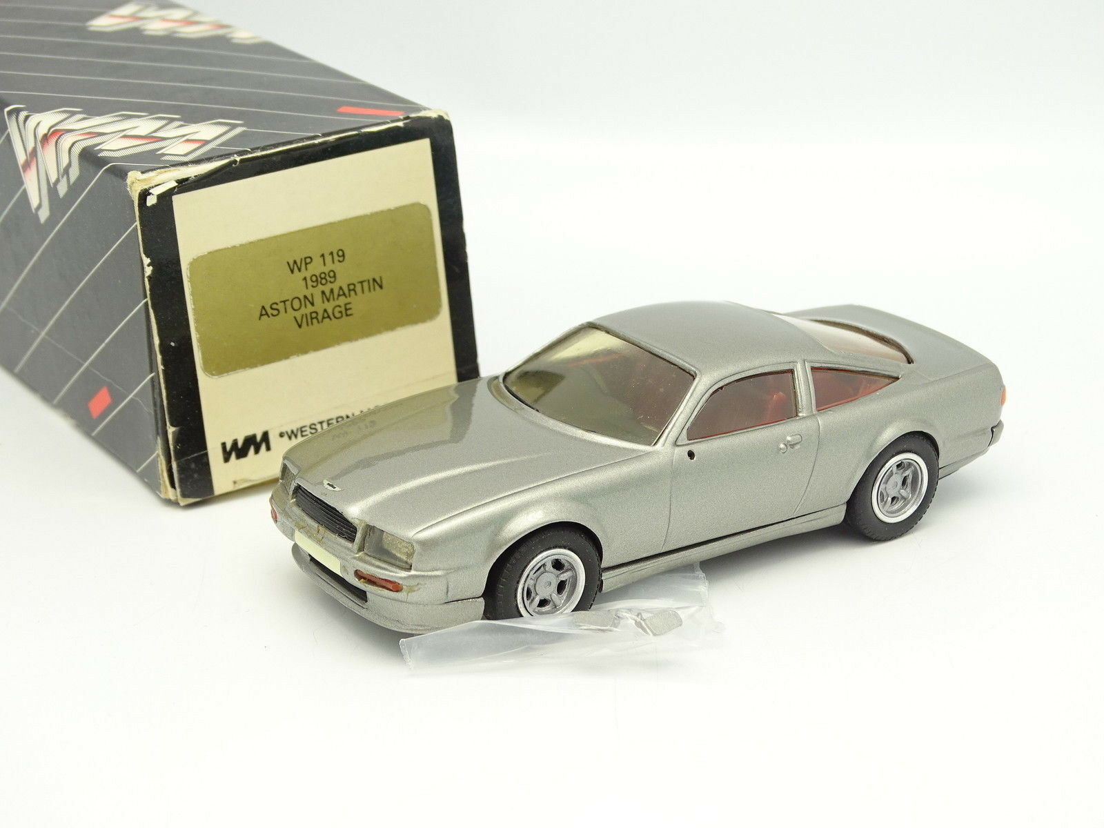 Western Models 1 43 - Aston Martin Virage 1989 grigioe