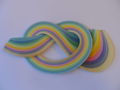 Quilling Paper 10mm Pastel shades 175 strips