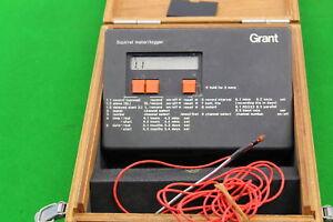Grant SQUIRREL Meter/Logger sq32-16u in Wooden Case