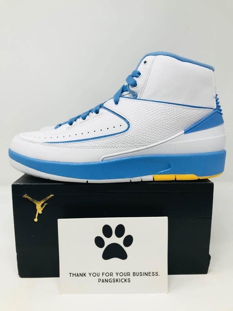 892f4d80170b Nike Air Jordan 2 Retro  Melo   Melo   Melo  385475-122 Size 8.5 ...