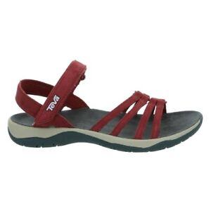 Details zu Teva Elzada Sandal LEA W`s Damen Sandale Damen rot Outdoor Sandalen Trekking