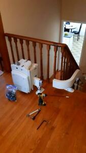 Stairlift Removal Service!  I pay cash $$$ for your Chair Lift! Stair repair too! Chairlift Glide Acorn Bruno Stannah Kitchener / Waterloo Kitchener Area Preview