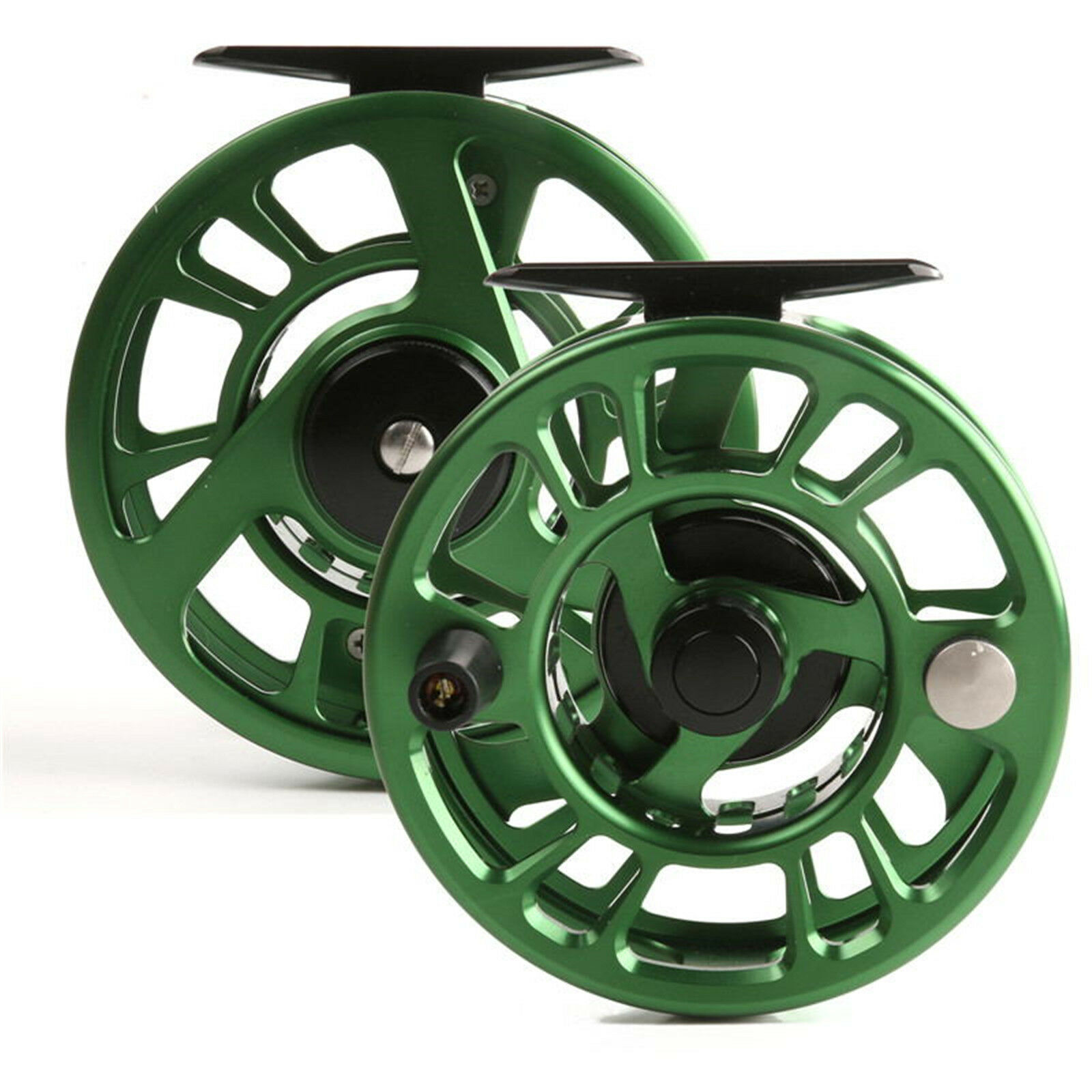 3 4 5 6 7 8 Weight Trout Fly Fishing Reel Stable Drag Feeling Green & Reel Bag