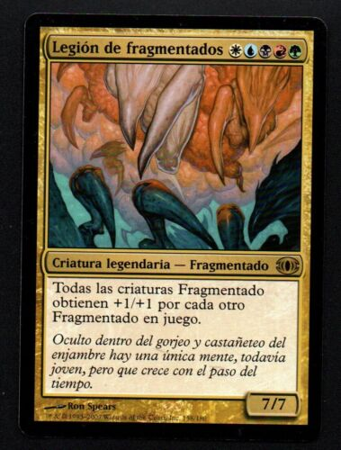 Sliver Legion MTG magic FUT MRM ESPANOL Legion de Framentados