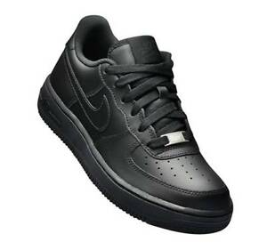 huge selection of b560a a5294 Image is loading Nike-Air-Force-1-Low-Black-GS-314192-