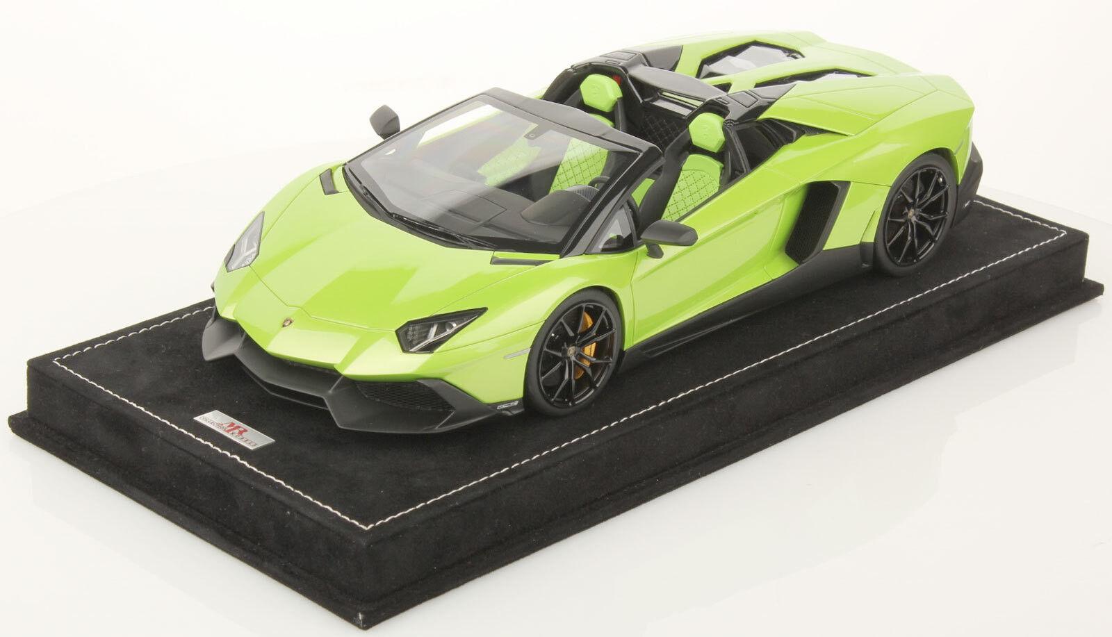 Mejor precio El señor señor señor Lamborghini Aventador LP720-4 Roadster Colección 1 18 50TH Aniv Lambo 014B  gran selección y entrega rápida