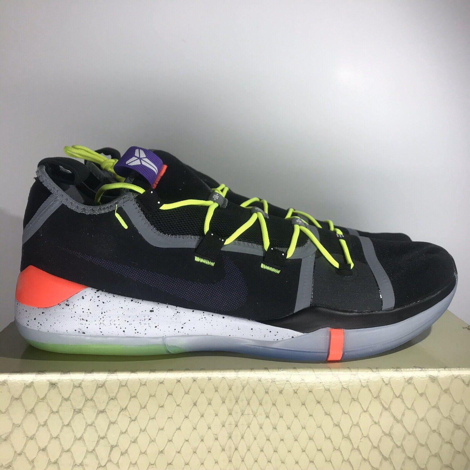 Nike Kobe AD Chaos Black Racer Blue