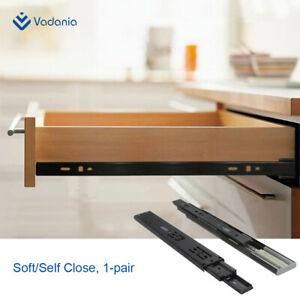Ball-Bearing-Drawer-Slides-Soft-Close-3-Folds-Full-Extension-Side-Mount-1-pair