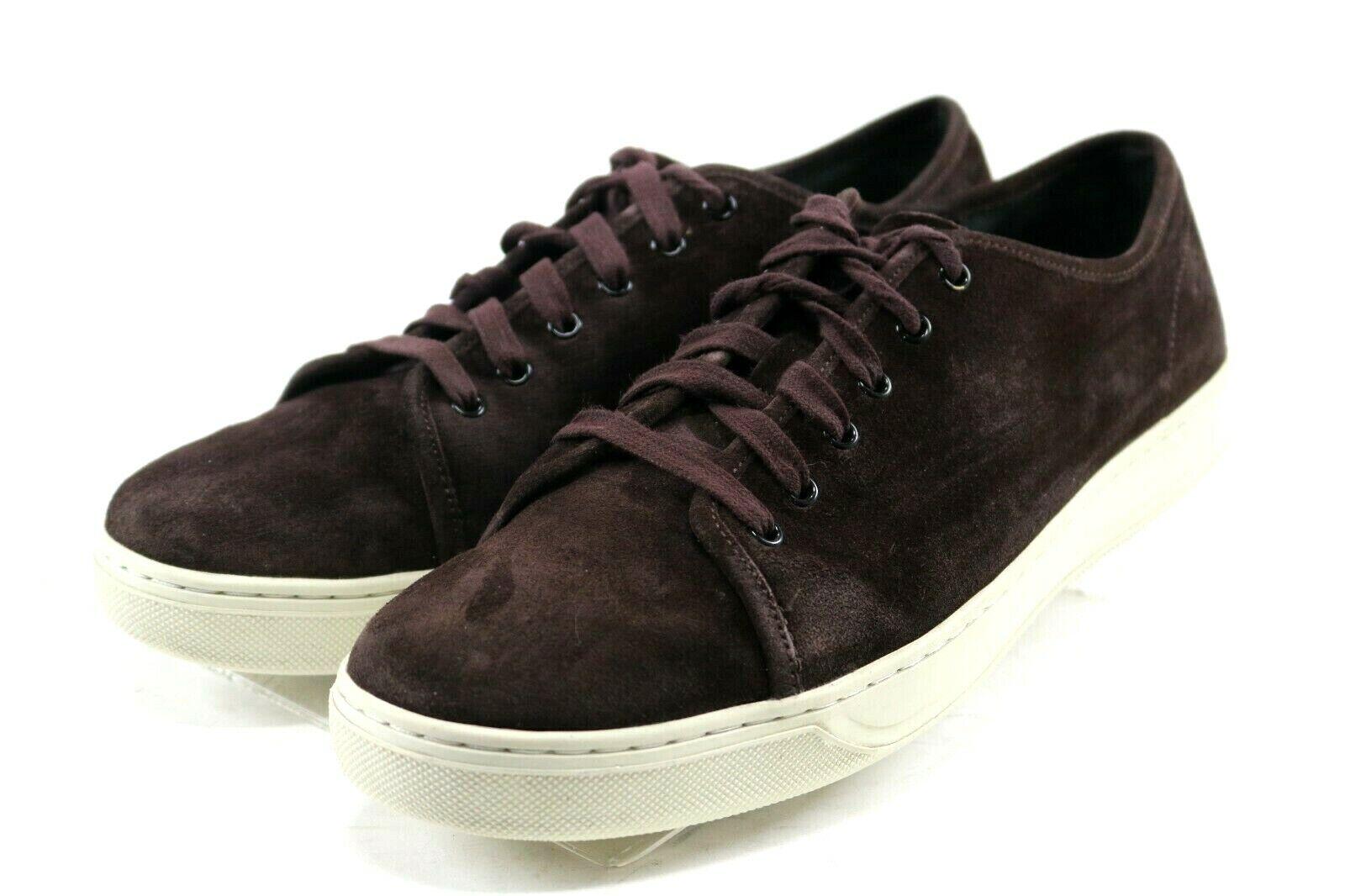 Vince Austin  295 Men's Suede Low-Top Sneaker Size 11 Brown