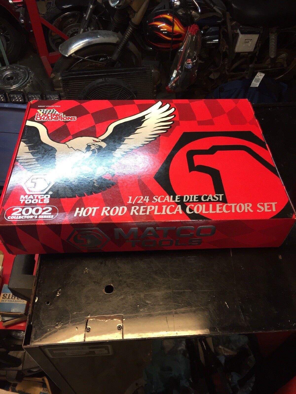 Matco Tools Collectors Series 1 24 scale Hot Rod 6 Car Set 2002 ItemSNHR2422