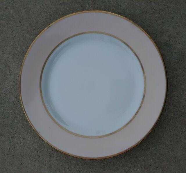 New Lauren Ralph Lauren Hampton's Tea Peach Salad Dessert Plates NWT Set of 2