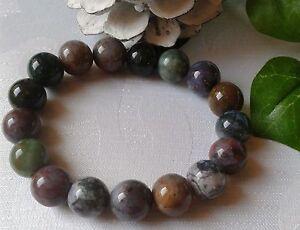 schoenes-Edelstein-Armband-Indian-Achat-12-mm-Perlen-ohne-Metall