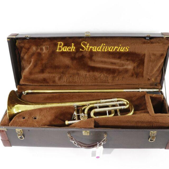 Bach Model 50B Stradivarius Professional Bass Trombone SN 50B-44251 VERY NICE