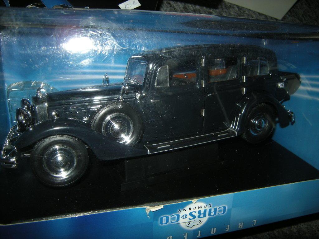 1 18 Ricko Horch 851 Pullmann 1935 schwarz schwarz in OVP
