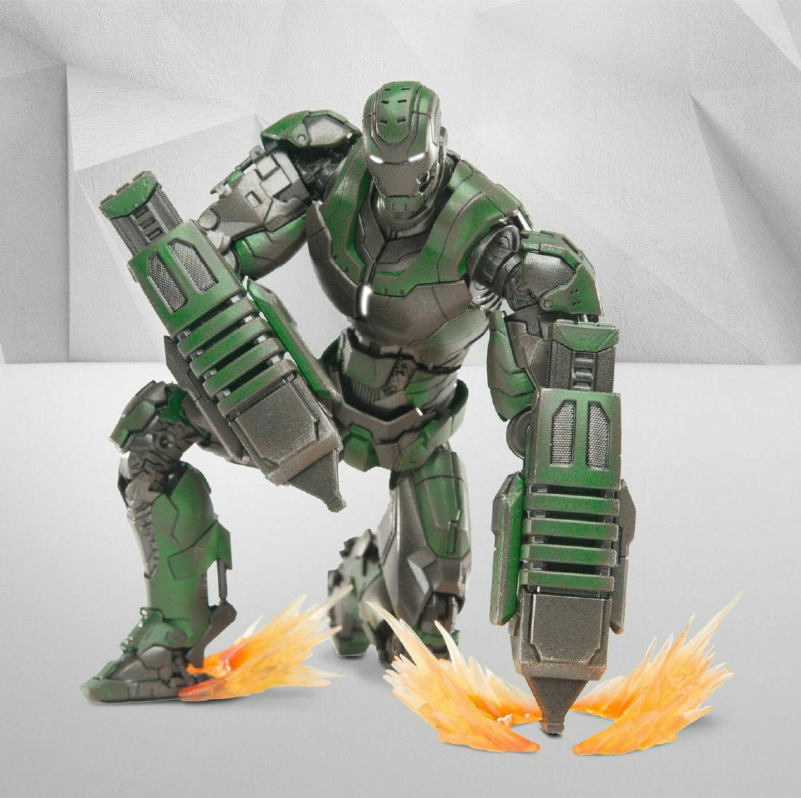 Comicave Studios 1 12 Diecast Iron Man MK26 Gamma Figura de Acción Juguetes Coleccionables