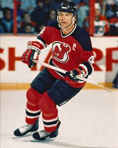 New Jersey Devils SCOTT STEVENS Glossy 8x10 Photo NHL Hockey Print ... db8129b2c