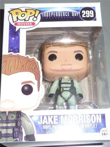 JAKE MORRISON Independence Day Funko POP Movies #299 Vinyl Figure VERY DMG BOX