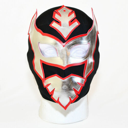 Costume Children/'s Size Fancy Dress SIN CARA MEXICAN WRESTLING MASK Kids WWE