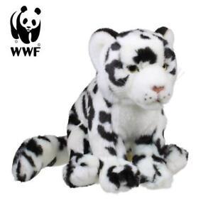 Wwf-Stuffed-Toy-Snow-Leopard-Soft-19cm-Lifelike-Animal-New