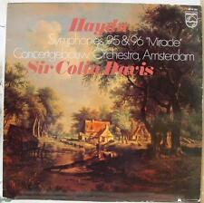 "Davis - Haydn Symphonies 95 & 96 ""Miracle"" LP Mint- 6514 193 Holland Vinyl 1981"