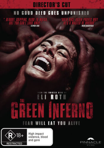 1 of 1 - The Green Inferno (Director's Cut)  - DVD - NEW Region 4