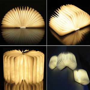Reading-Book-LED-Night-Light-Rechargeable-Foldable-Lamp-USB-Desk-Booklight-magic