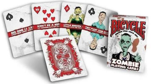 Bicycle Zombie Playing Cards Poker Casino Magic Tricks Fun Games Decks UK Seller
