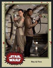 TOPPS Digital Star Wars Card Trader: Mistery ?? Rey & Finn Base 4 Variant (1 car