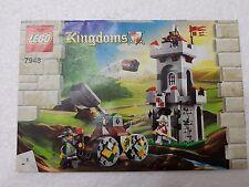 MANUALE ISTRUZIONI LEGO 7948 KINGDOMS - ONLY MANUAL