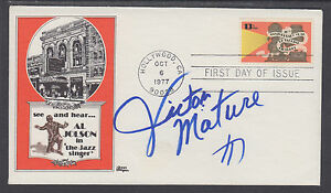 Victor Mature, American Film Actor, signed Talking Pictures FDC