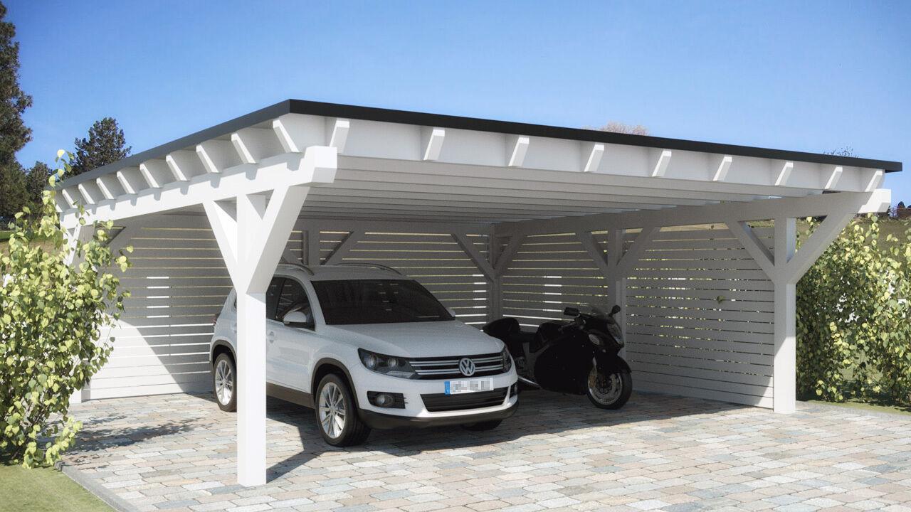 NEU Premium Carport 6.00 x 6.00 mit 33% Onlinerabatt Carports ab Werk