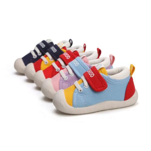 Baby Toddlers Bear Sneaker Pre Walker Learning Shoes Infant Trainer Boys Girls