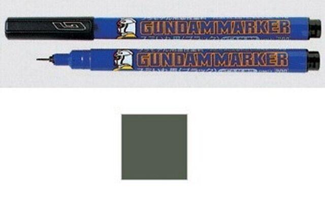 Gundam Marker GM02 Gray Fine Tip GUNPLA Pennarello Grigio GSI CREOS