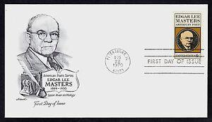#1405 6c Edgar Lee Maestros, Artmaster FDC Cualquier 5=