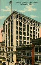 Florida, FL, Jacksonville, Atlantic National Bank Building 1910's Postcard