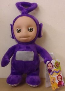 Teletubbies-Talking-Tinky-Winky-Supersoft-Plush-10-034-27-cm-Soft-Toy
