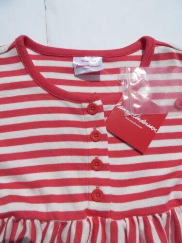 Hanna Andersson 110 130 140 Girls Daydress Dress Pink Stripes Cotton Peru NEW 8