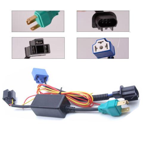 For Hummer H3 H3T H2 H1 LED Halo Angel Eyes DRL Headlight H4-H13 Hi//Lo Beam Lamp