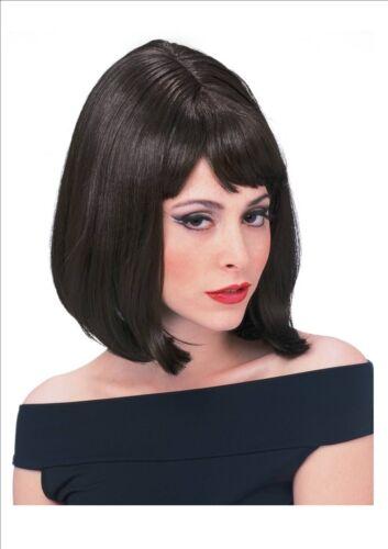 1960/'s 60/'s Bob Shoulder Length Wig Fancy Dress Accessory