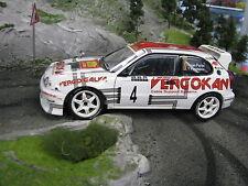 QSP Toyota Corolla WRC 1:18 #5 van Parijs (BEL) / Peyskens (BEL) Haspengouw 2004