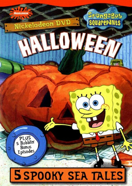 SPONGEBOB HALLOWEEN ARABIC LANGUAGE CARTOON DVD