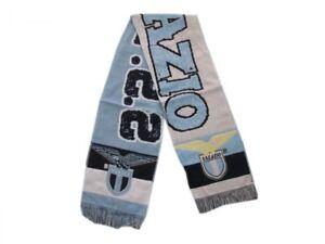 Sciarpa-Lazio-Originale-Calcio-Stadio-SS-Lazio-1900-Prodotto-ufficiale